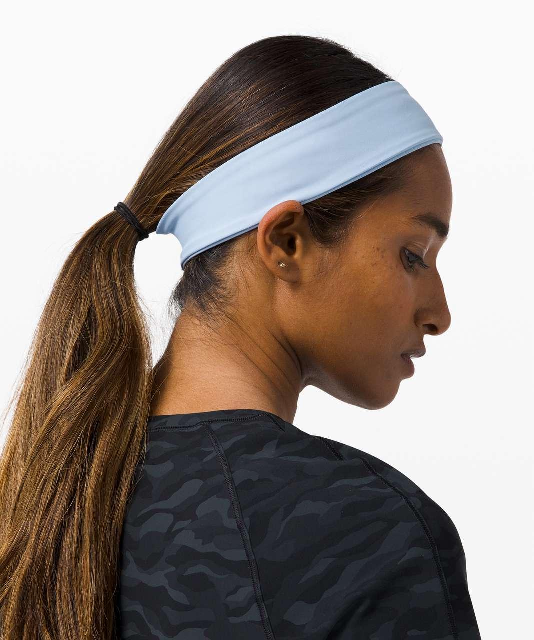 Lululemon Fly Away Tamer Headband - Blue Linen