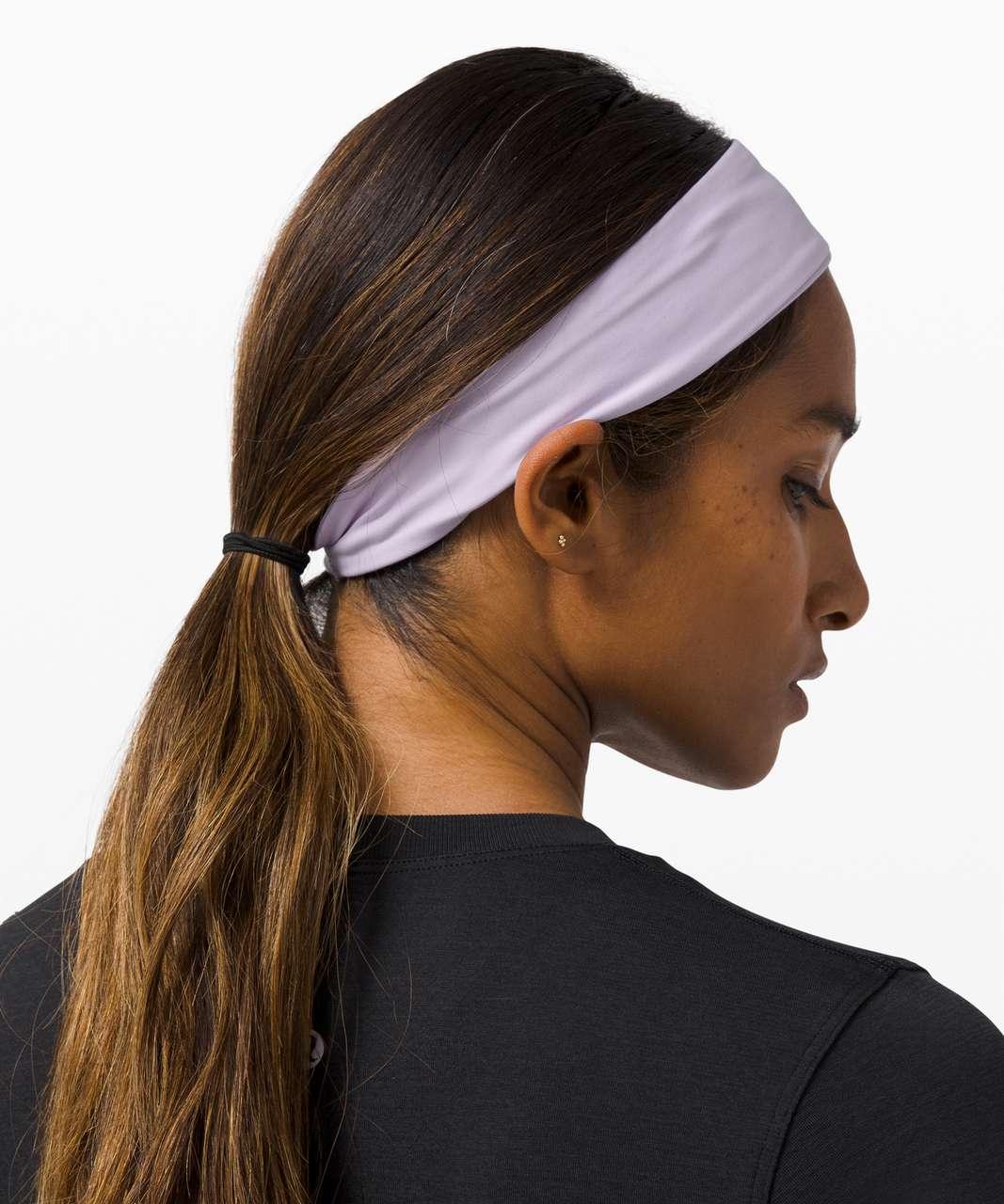Lululemon Fly Away Tamer Headband - Lavender Dew