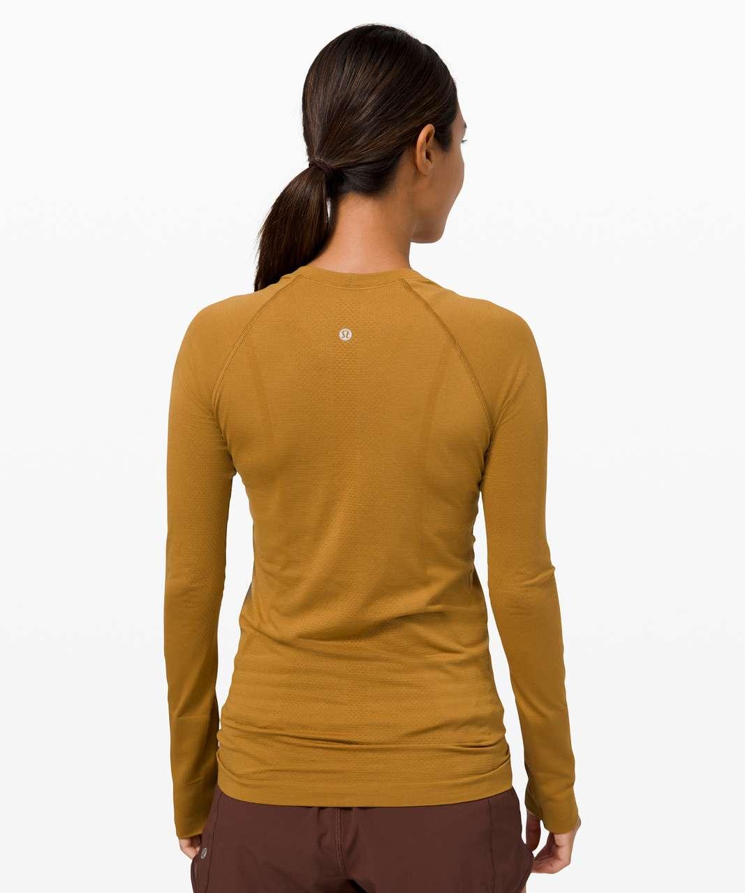 Lululemon Swiftly Tech Long Sleeve 2.0 - Spiced Bronze / Spiced Bronze