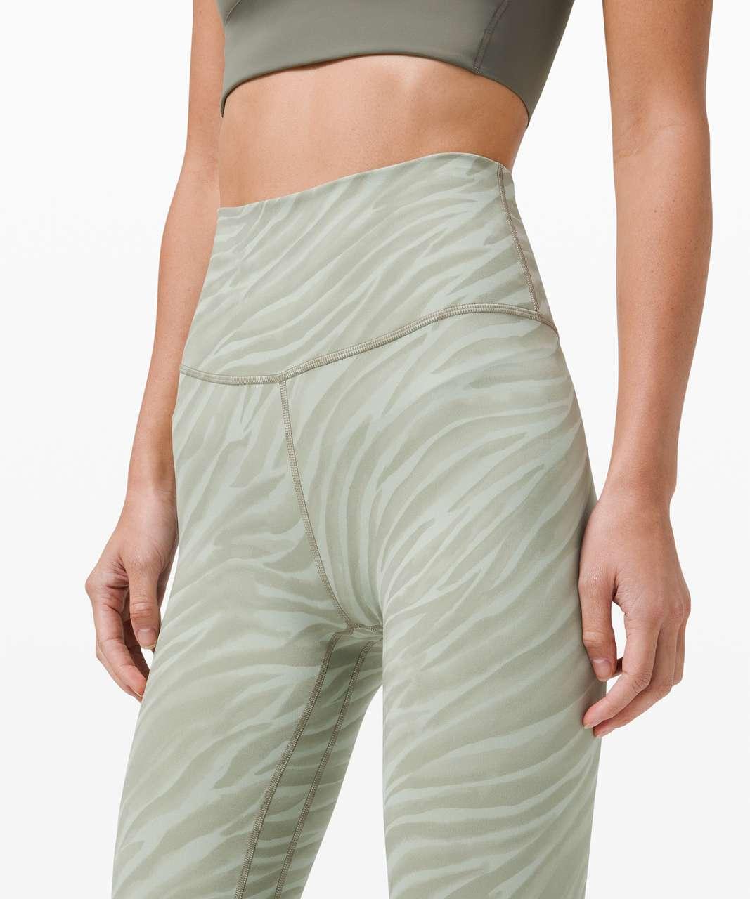 "Lululemon Align Pant 25"" - Le Tigre Camo Green Fern Multi"