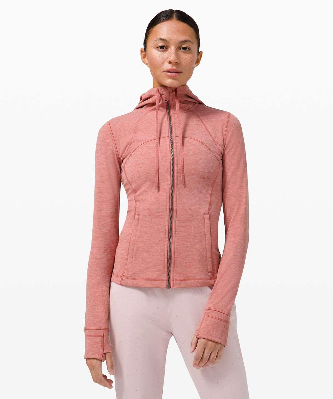 Lululemon Hooded Define Jacket *Nulu - Heathered Brier Rose