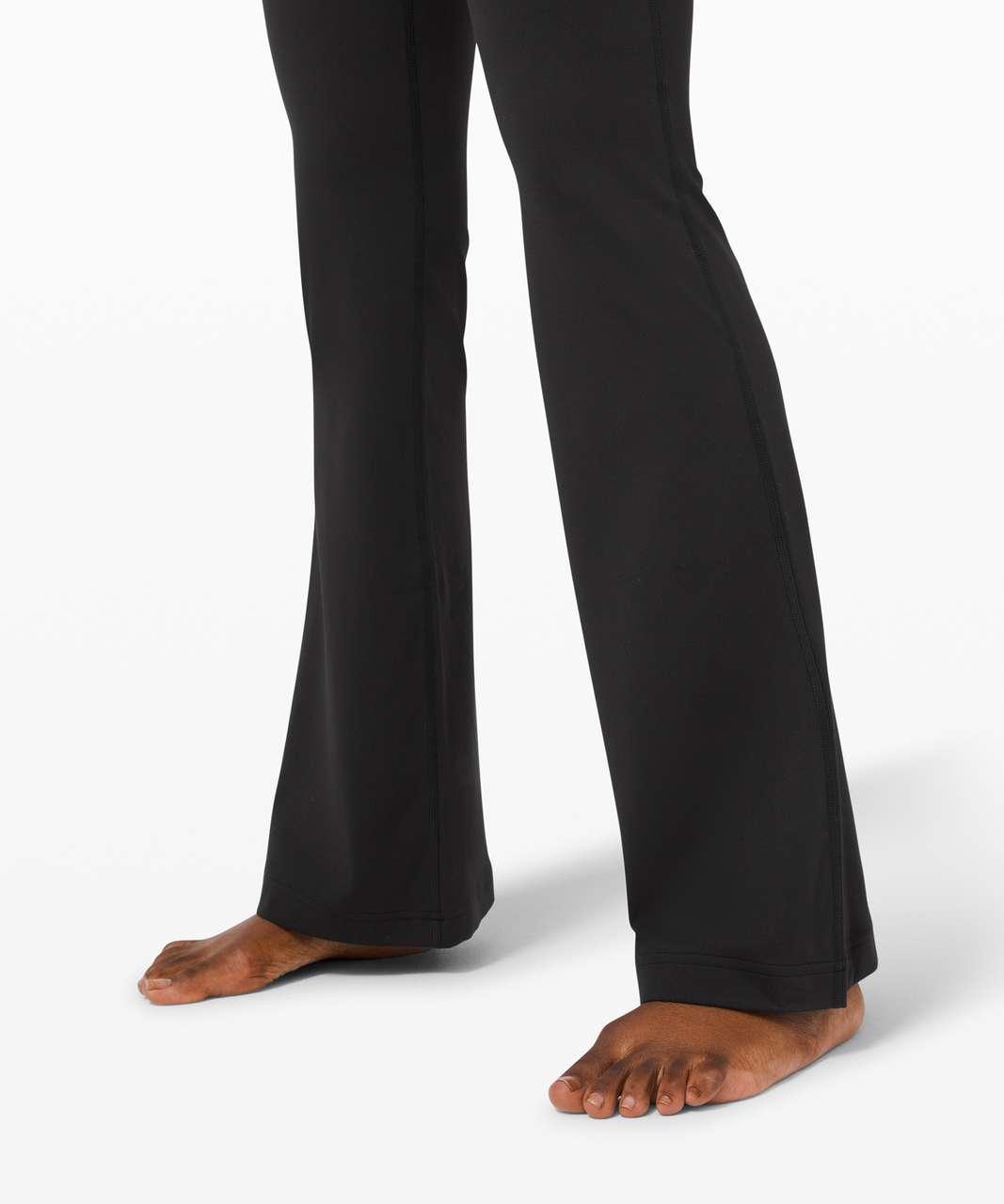 Lululemon Groove Pant Flare Super High-Rise *Nulu - Black