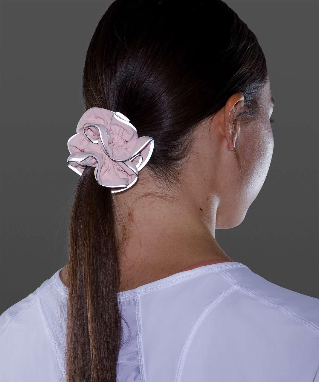 Lululemon Light Locks Scrunchie II - Pink Mist
