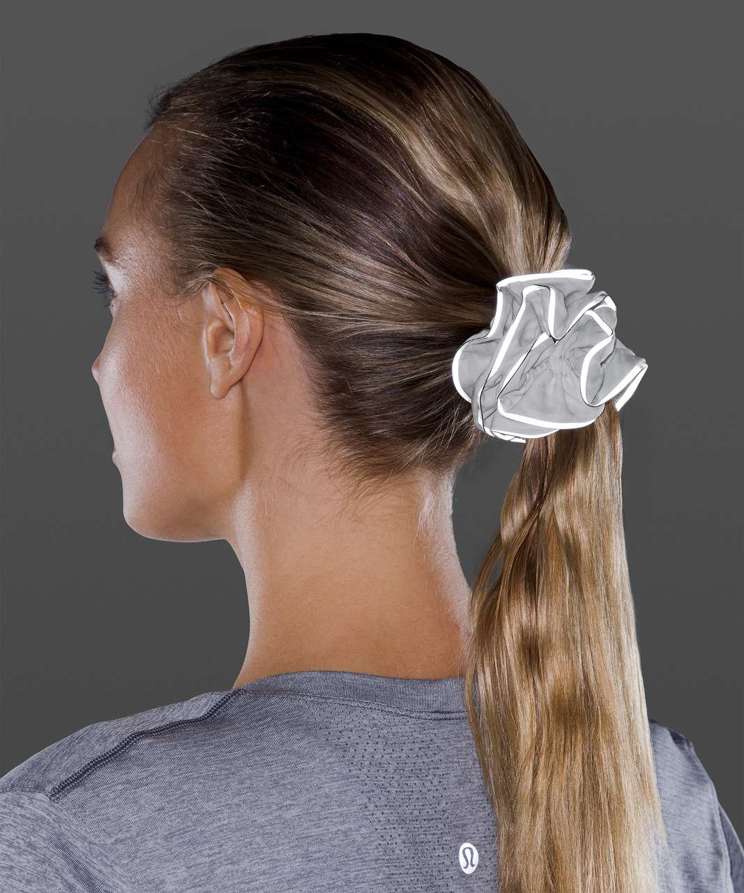 Lululemon Light Locks Scrunchie II - Concertina White Multi