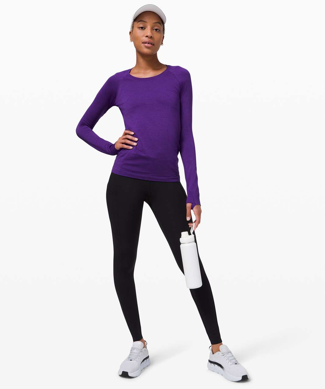 Lululemon Swiftly Tech Long Sleeve 2.0 - Court Purple / Court Purple