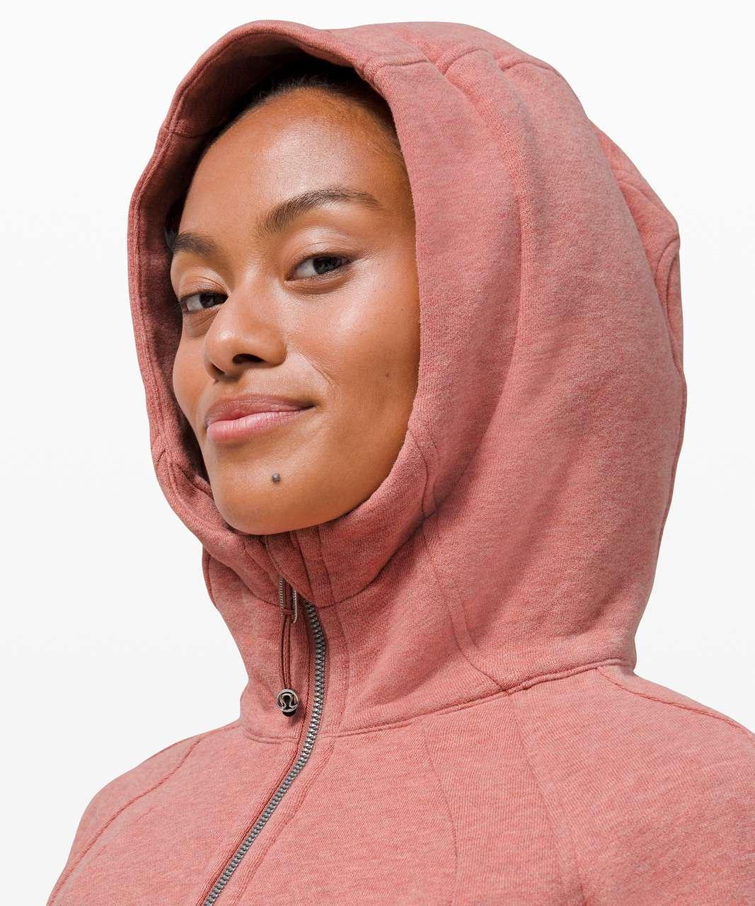 Lululemon Scuba Hoodie *Light Cotton Fleece - Heathered Brier Rose