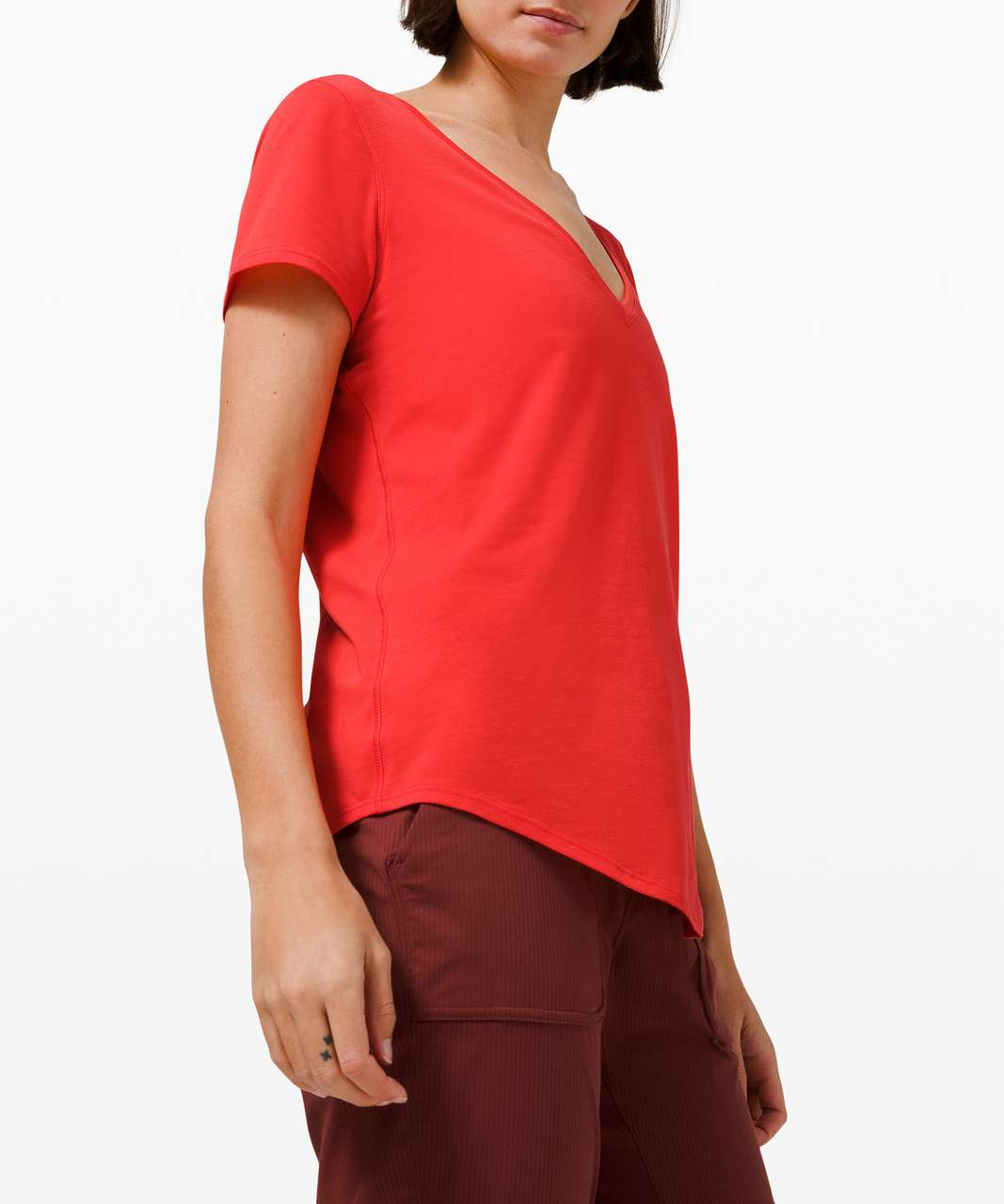 Lululemon Love Tee V - Pink Punch