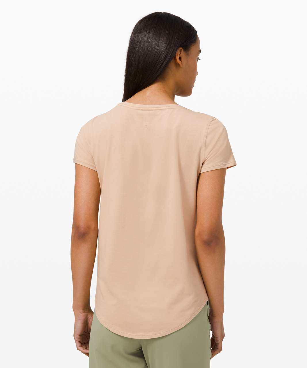 Lululemon Love Tee V - Cafe Au Lait