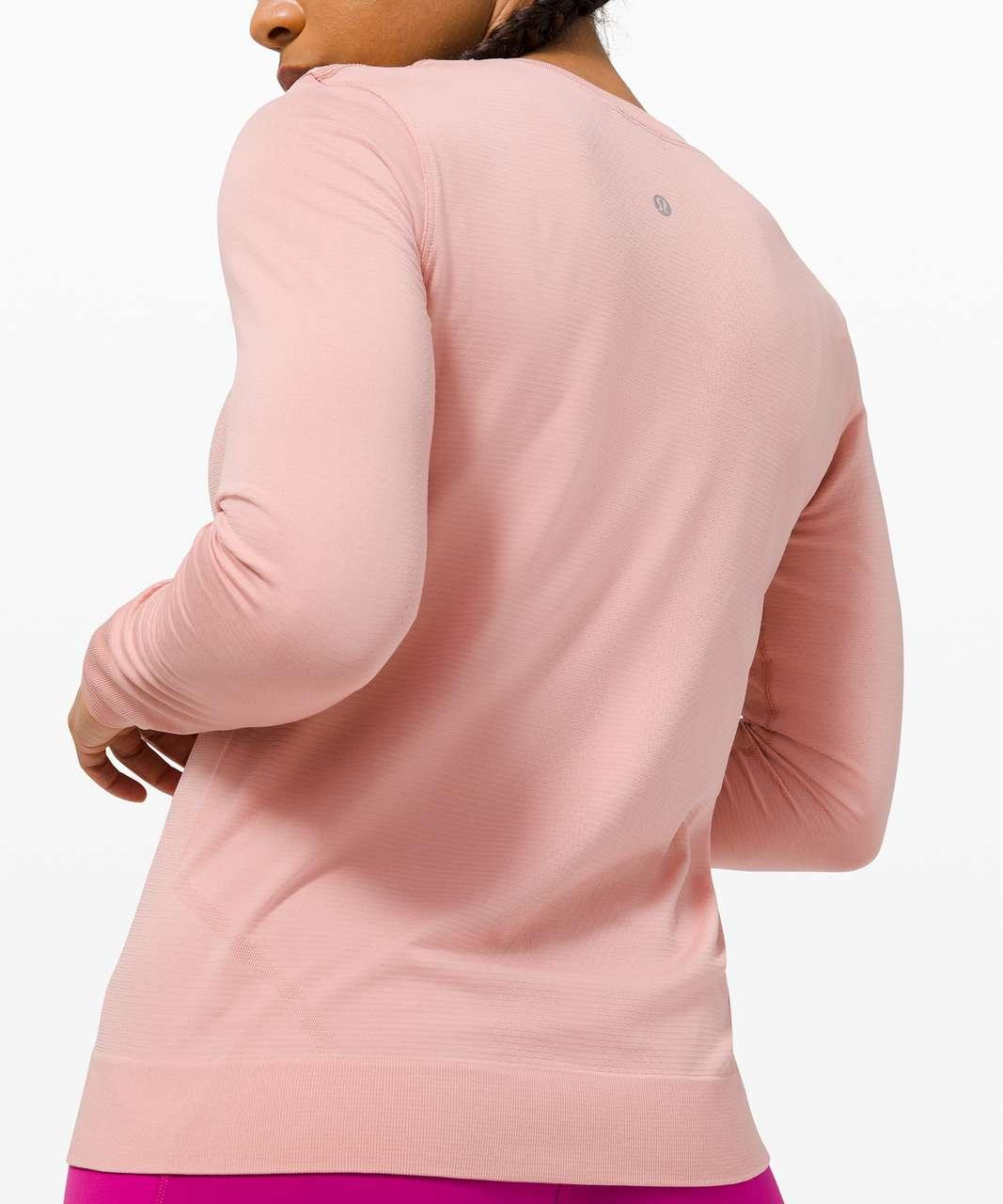 Lululemon Swiftly Breathe Long Sleeve - Pink Puff / Pink Puff