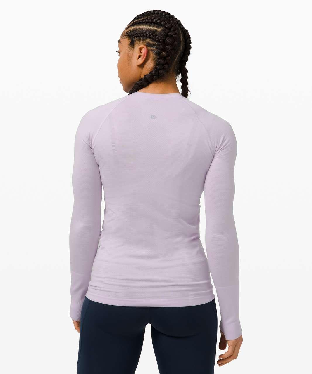 Lululemon Swiftly Tech Long Sleeve 2.0 - Lavender Dew / Lavender Dew
