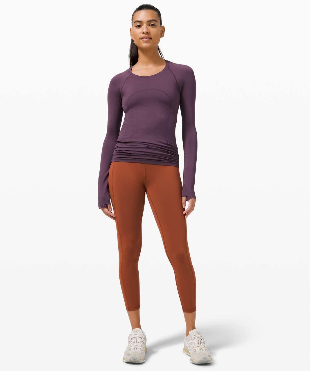 Lululemon Swiftly Tech Long Sleeve 2.0 - Grape Thistle / Grape Thistle