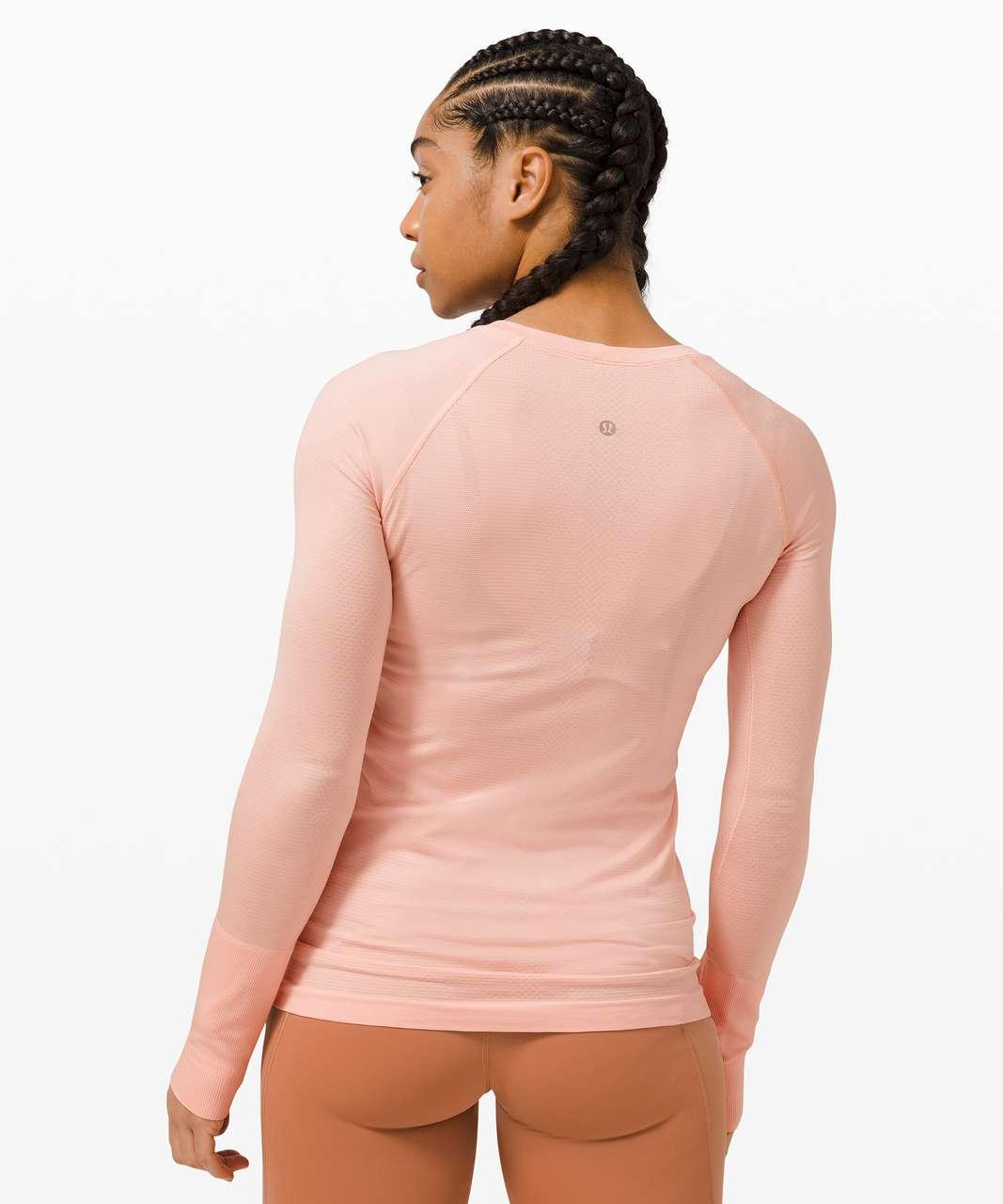 Lululemon Swiftly Tech Long Sleeve 2.0 - Pink Mist / Pink Mist