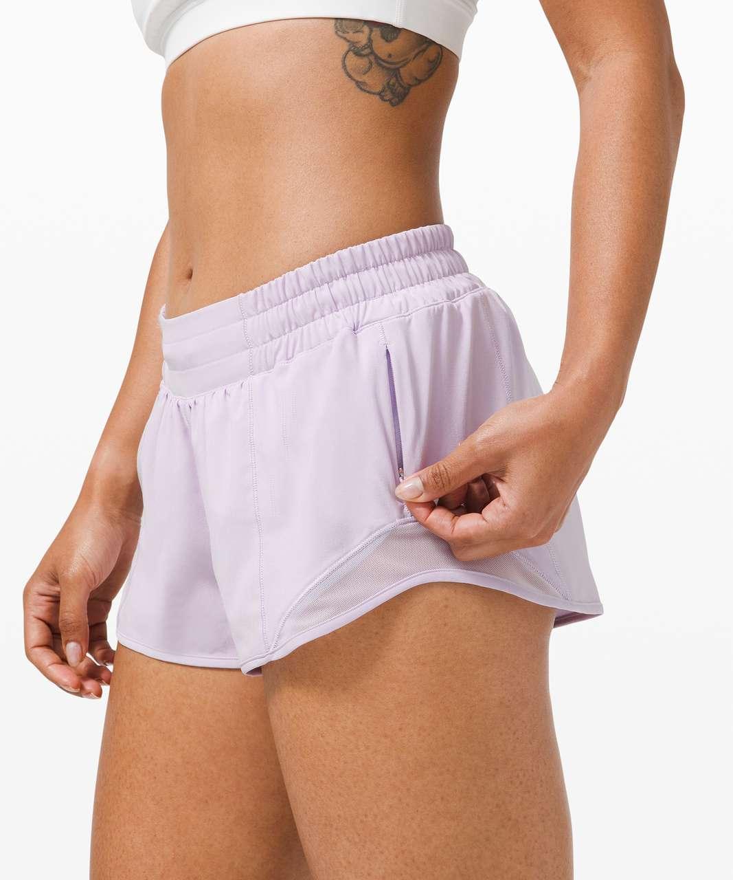 """Lululemon Hotty Hot Short II *2.5"""" - Lavender Dew"""