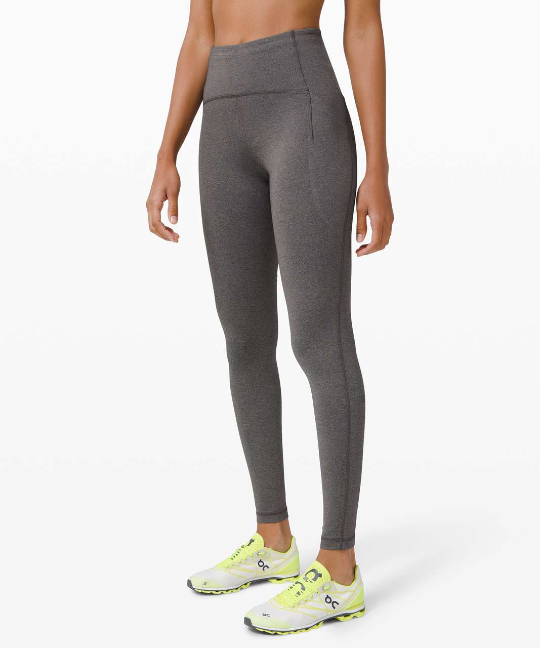 "Lululemon Swift Speed High-Rise Tight 28"" - Heathered Black"