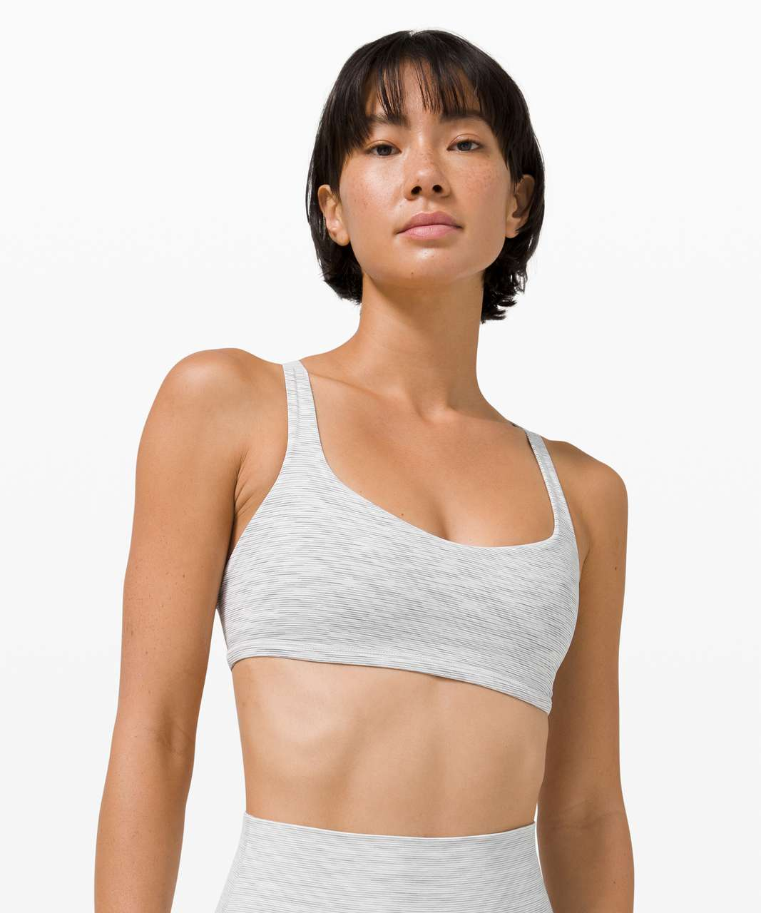 Lululemon Free to Be Bra - Wild *Light Support, A/B Cup - Wee Are From Space Nimbus Battleship / Pink Puff