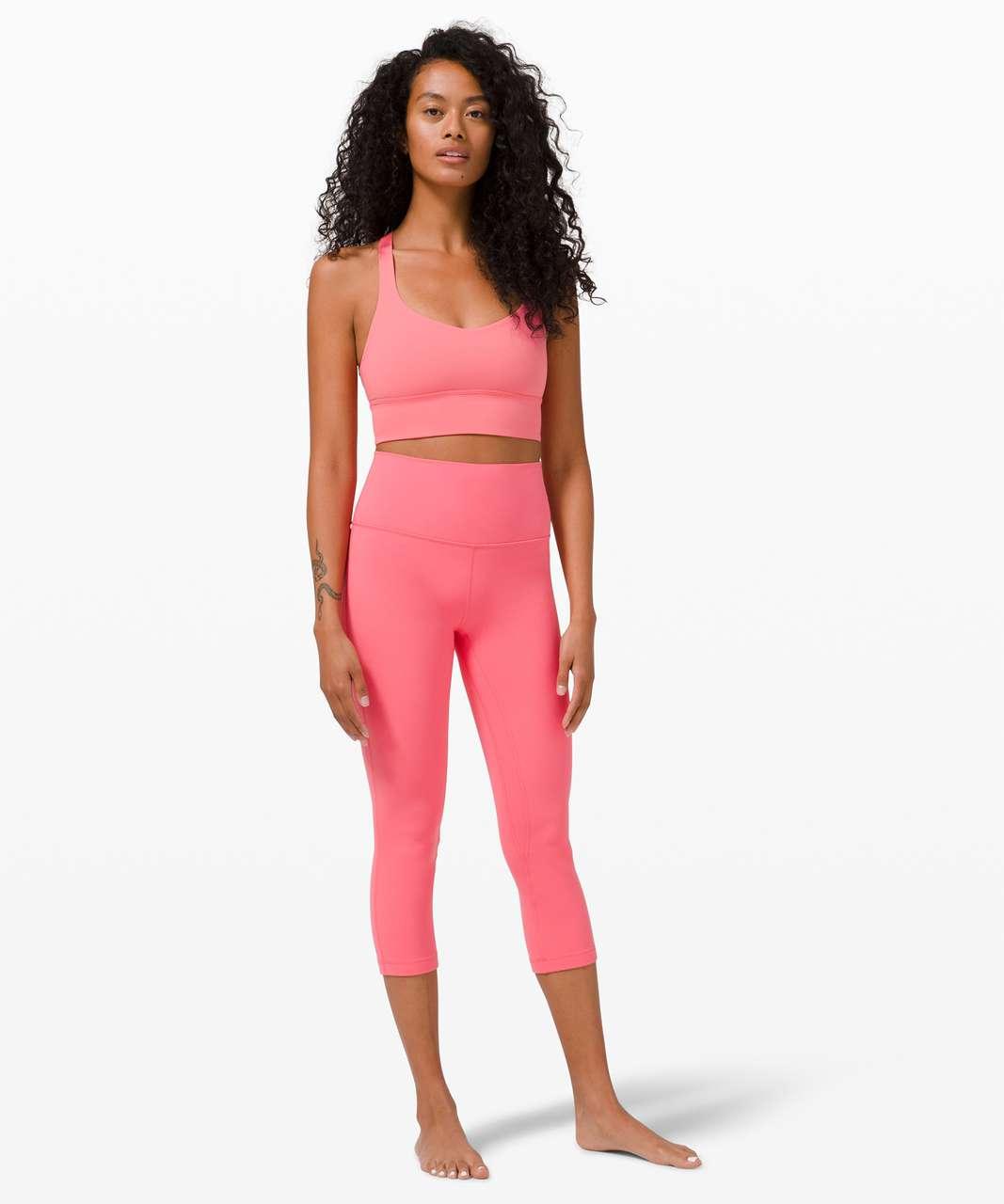 """Lululemon Align Crop *21"""" - Guava Pink"""