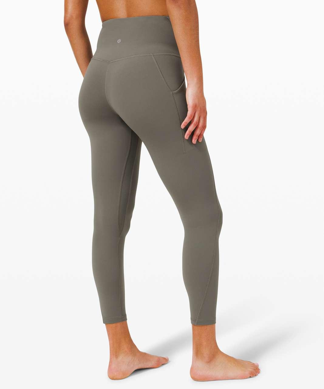 "Lululemon Align High Rise Pant with Pockets 25"" - Grey Sage"