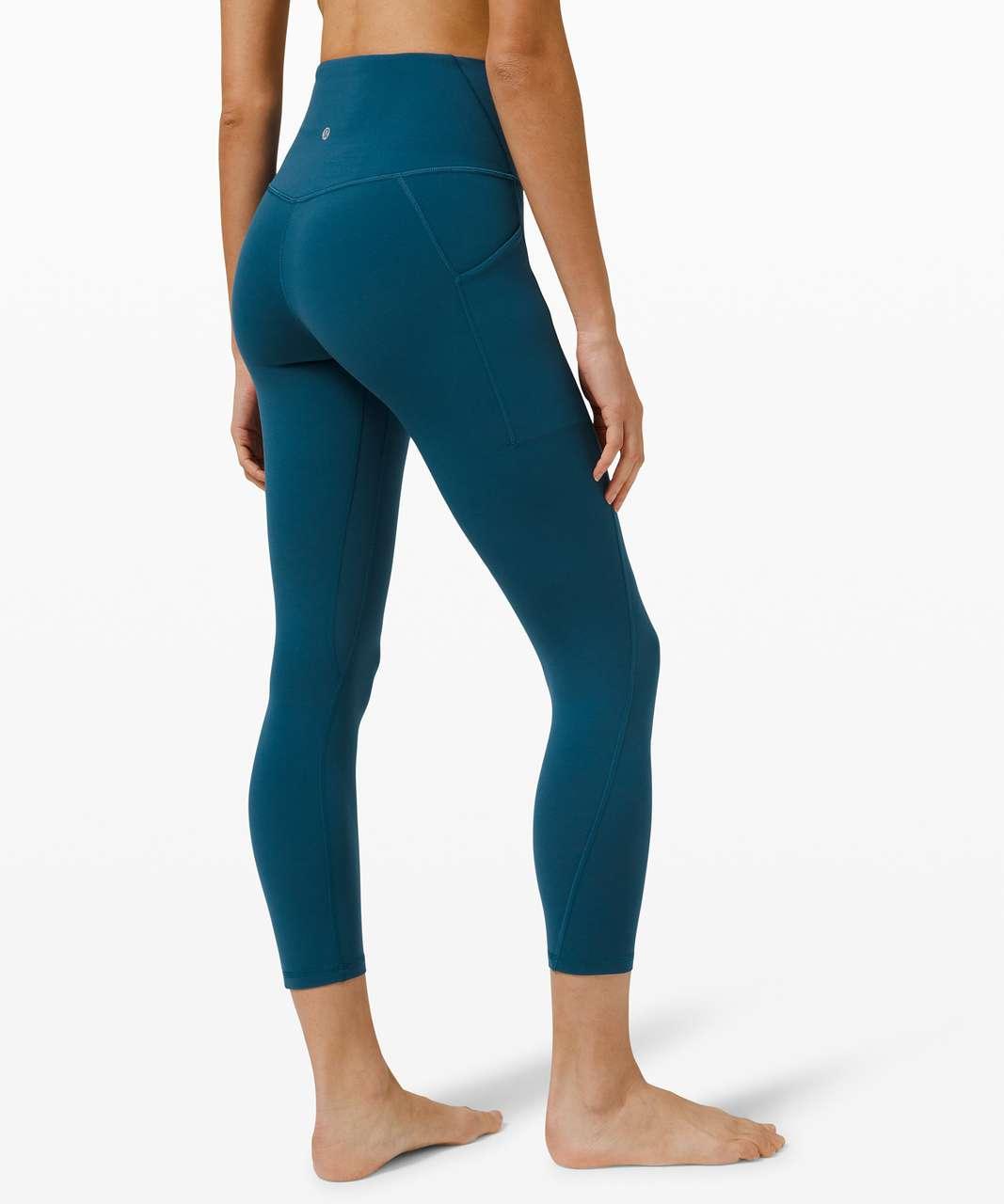 "Lululemon Align High Rise Pant with Pockets 25"" - Blue Borealis"