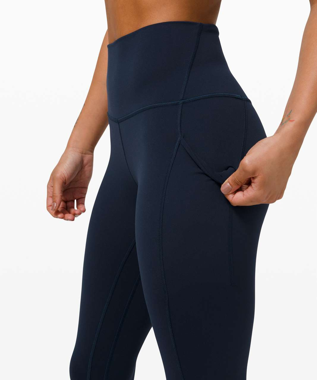 """Lululemon Align High Rise Pant with Pockets 25"""" - True Navy"""