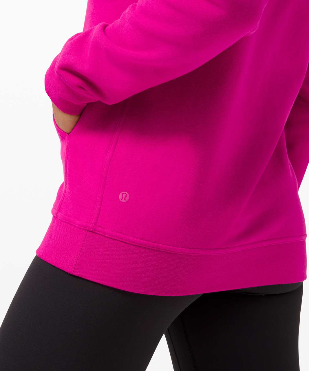 Lululemon All Yours Hoodie *Fleece - Ripened Raspberry