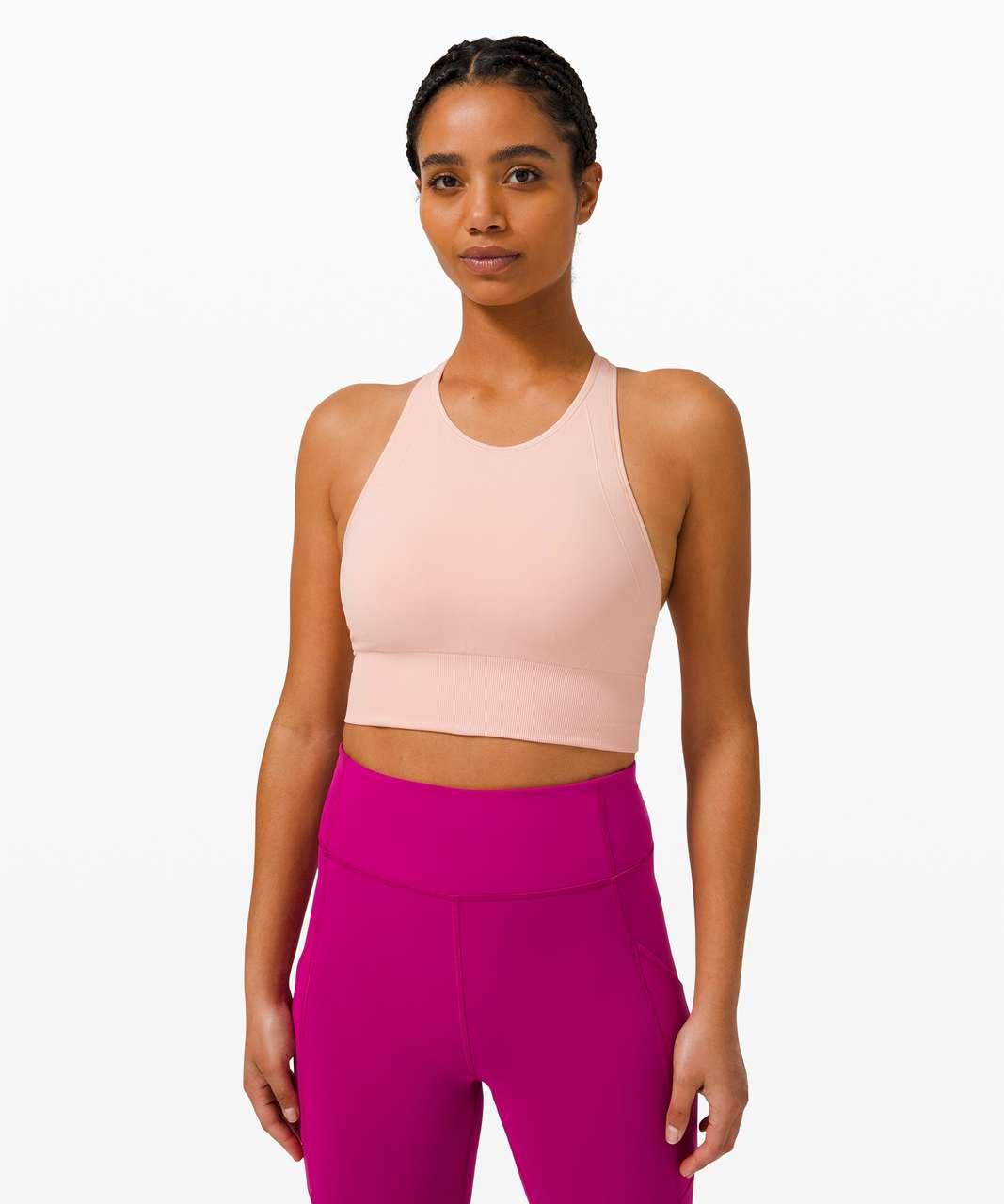 Lululemon Ebb to Train Bra *Medium Support, C/D Cup - Pink Mist