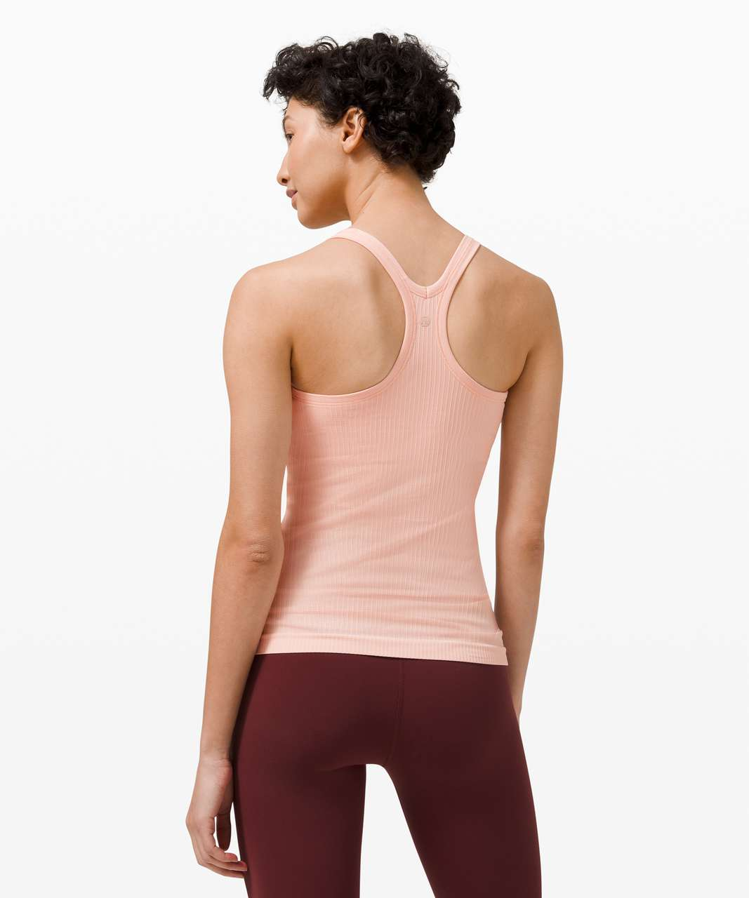 Lululemon Ebb To Street Tank *Light Support For B/C Cup - Pink Mist