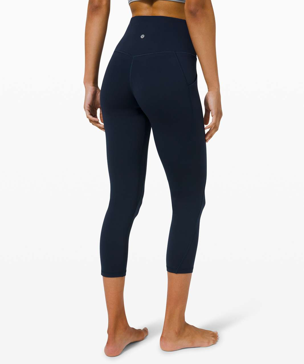 "Lululemon Align High Rise Crop with Pockets 23"" - True Navy"