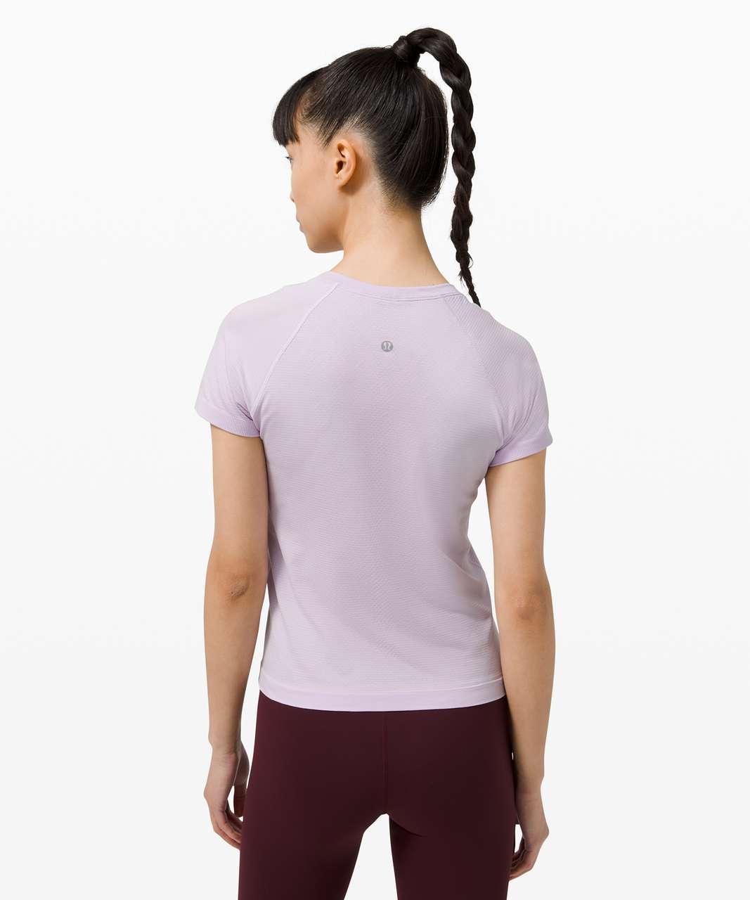 Lululemon Swiftly Tech Short Sleeve 2.0 *Race Length - Lavender Dew / Lavender Dew