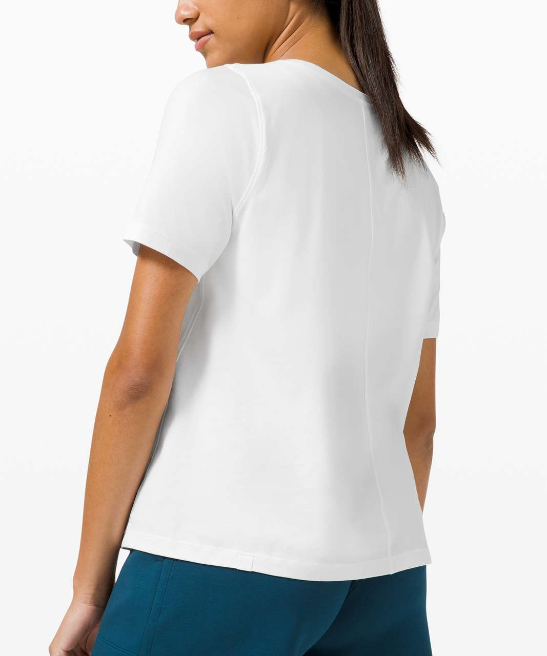 Lululemon Relaxed Fit Organic Cotton Tee - White