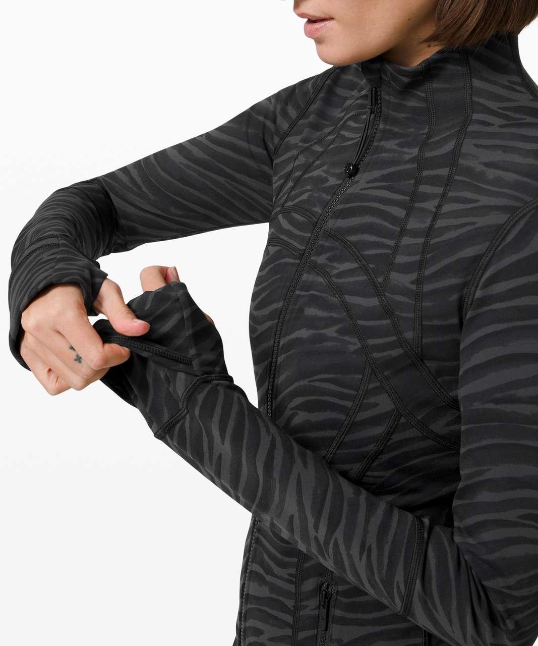 Lululemon Define Jacket - Le Tigre Camo Deep Coal Multi