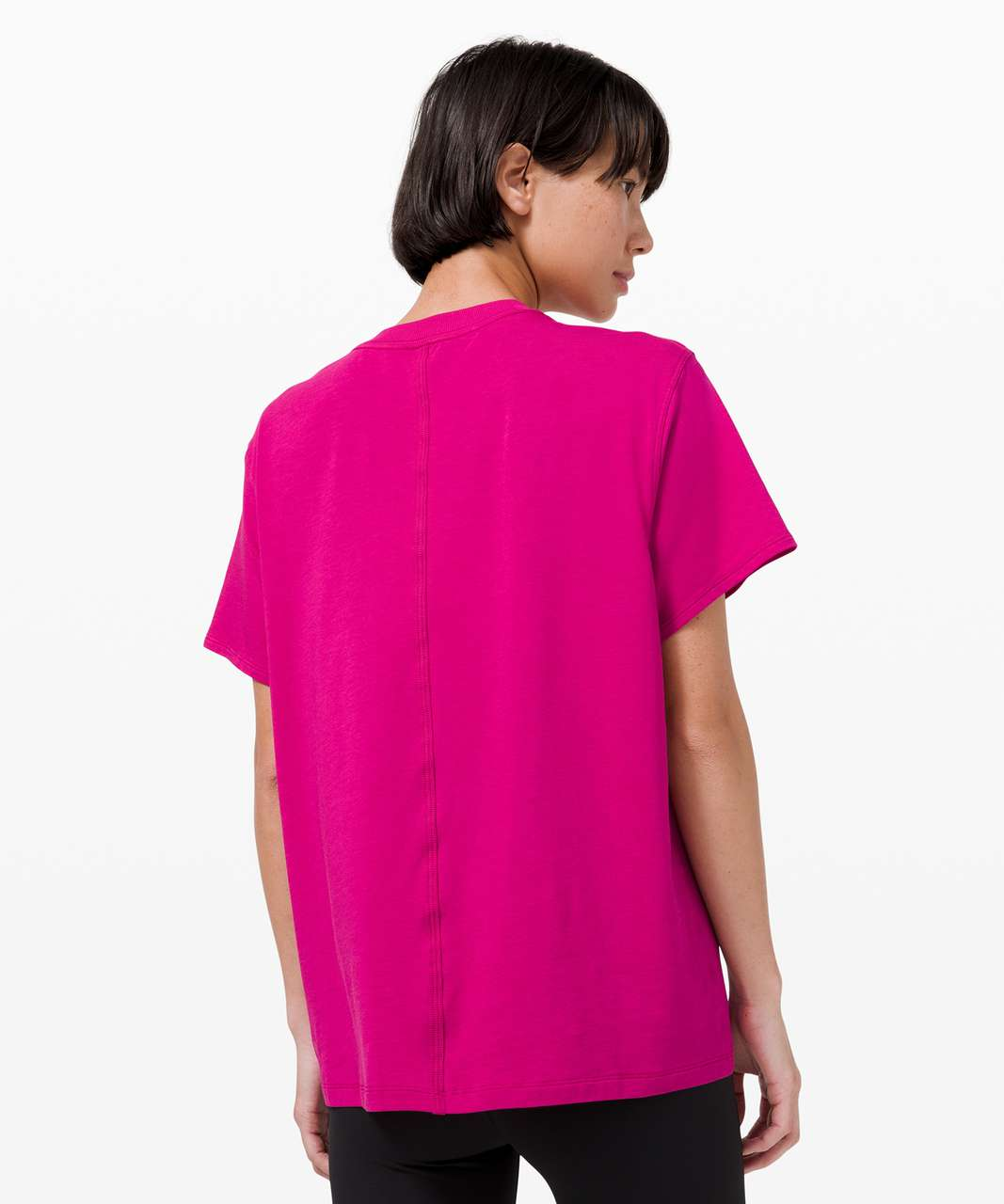 Lululemon All Yours Tee - Ripened Raspberry
