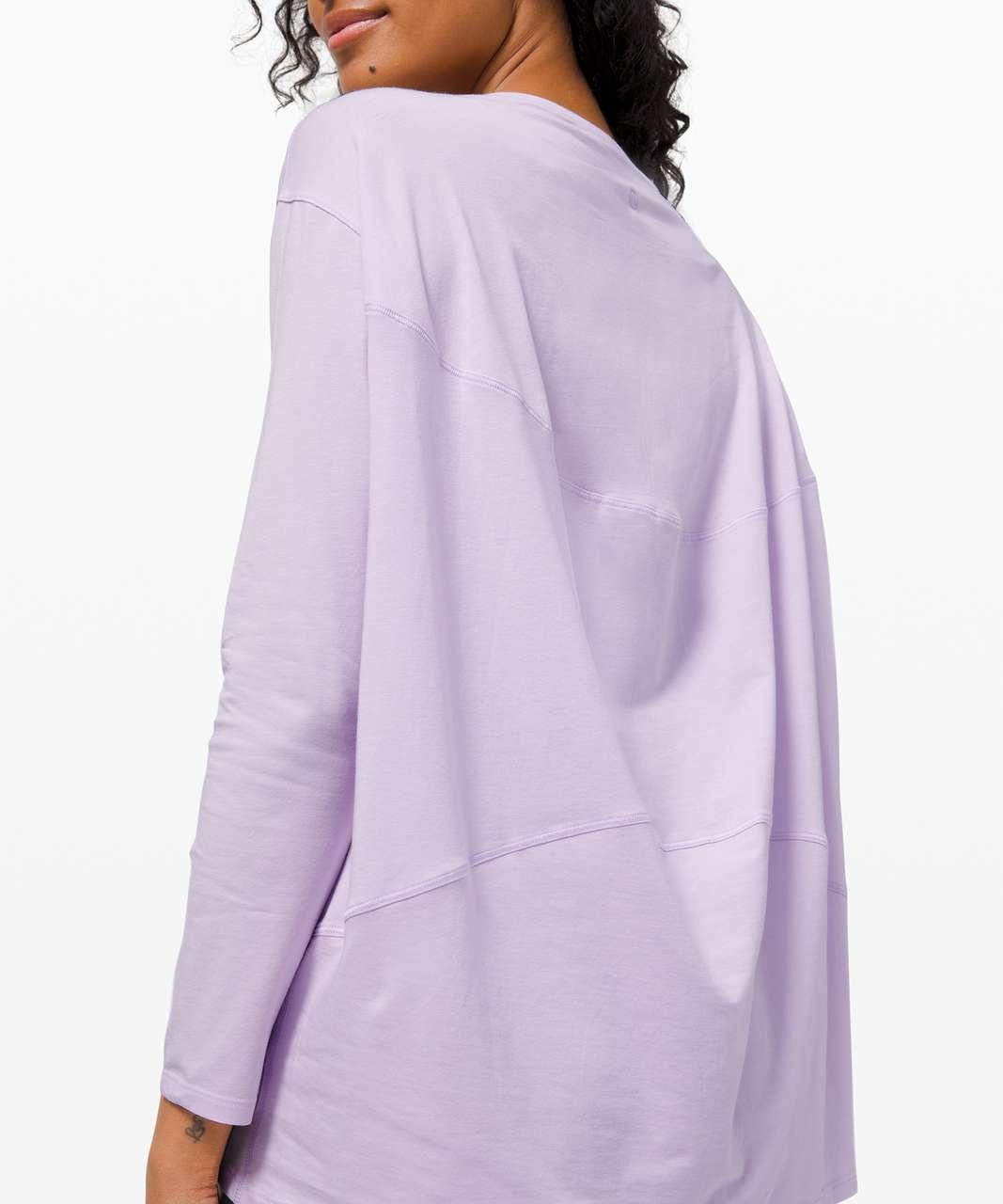 Lululemon Back In Action Long Sleeve - Lavender Dew