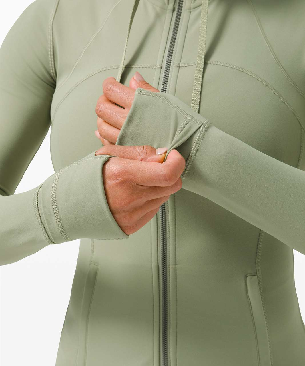 Lululemon Hooded Define Jacket *Nulu - Rosemary Green