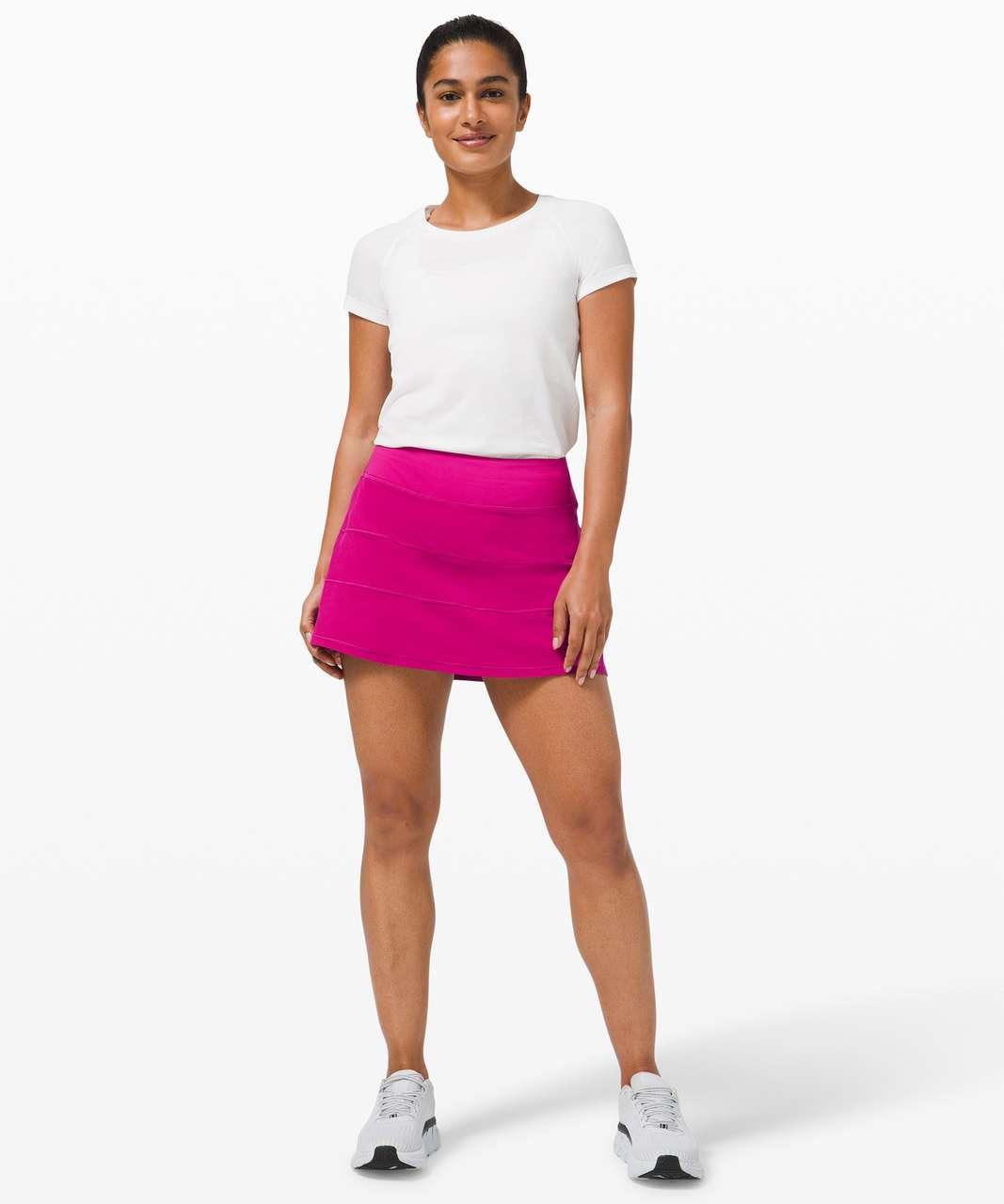 Lululemon Pace Rival Mid Rise Skirt *Tall - Ripened Raspberry