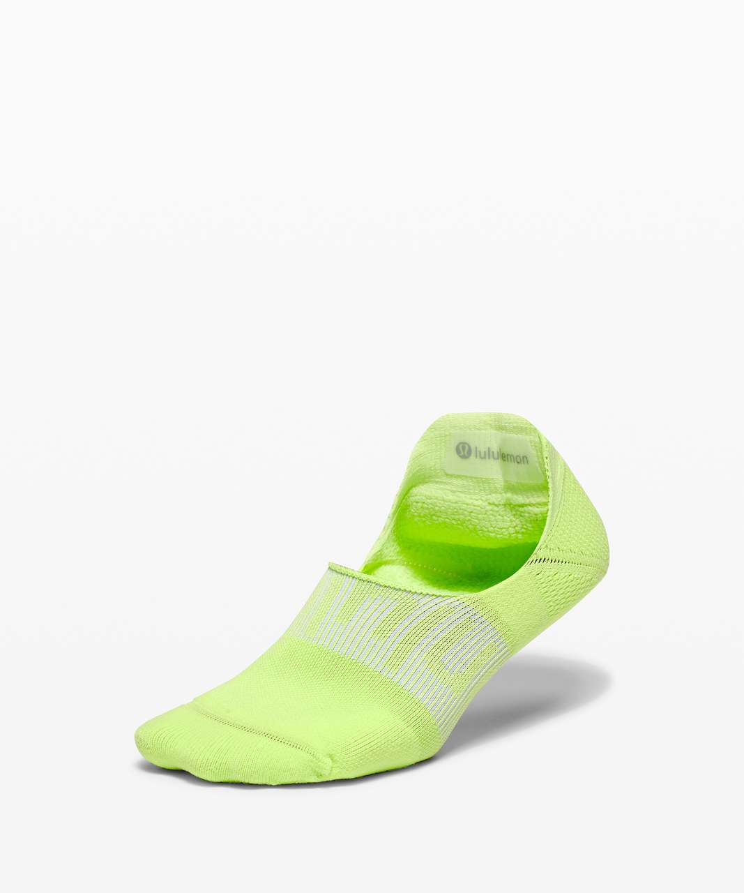 Lululemon Power Stride No-Show Sock with Active Grip - Neo Mint
