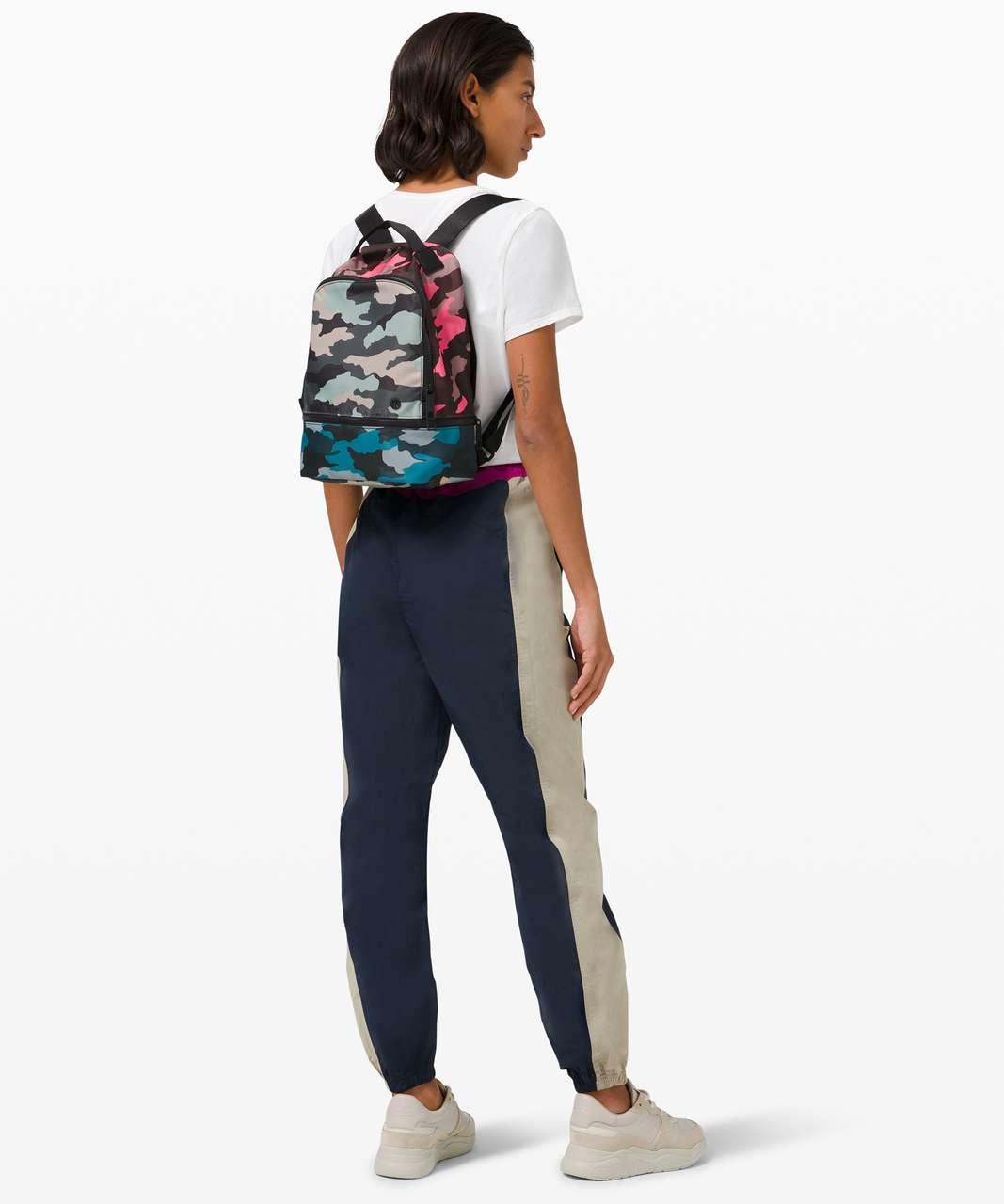 Lululemon City Adventurer Backpack Mini 10L - Heritage 365 Camo Guava Pink Multi / Heritage 365 Camo Cafe Au Lait Multi / Heritage 365 Camo Hawaiian Blue Multi