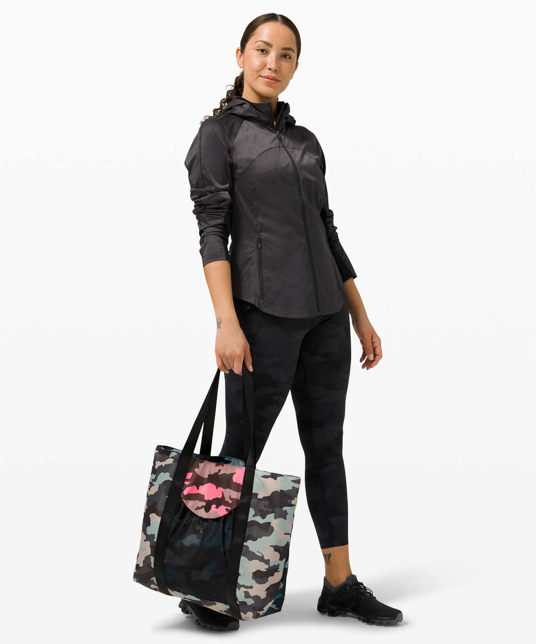 Lululemon Take It On Tote *24L - Heritage 365 Camo Guava Pink Multi / Heritage 365 Camo Cafe Au Lait Multi / Heritage 365 Camo Hawaiian Blue Multi