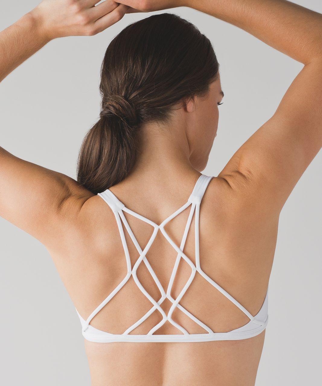 Lululemon Free To Be Zen Bra - White