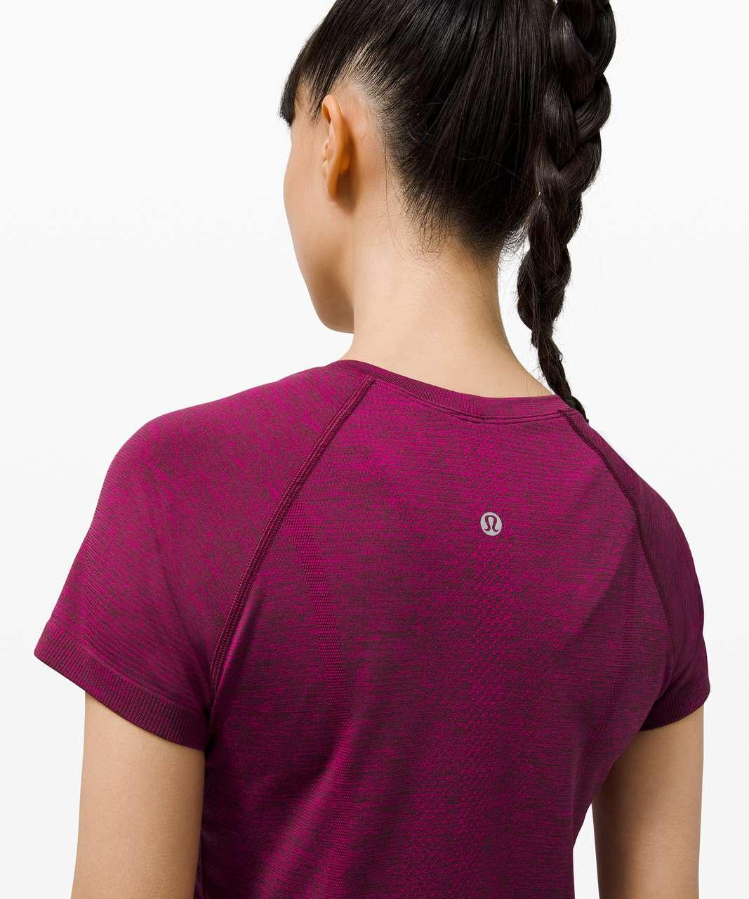 Lululemon Swiftly Tech Short Sleeve 2.0 - Ripened Raspberry / Red Merlot