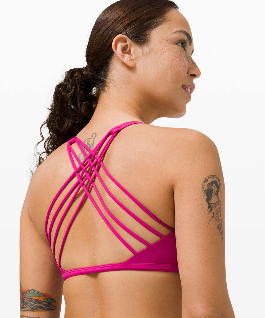 Lululemon Free to Be Bra - Wild *Light Support, A/B Cup - Ripened Raspberry