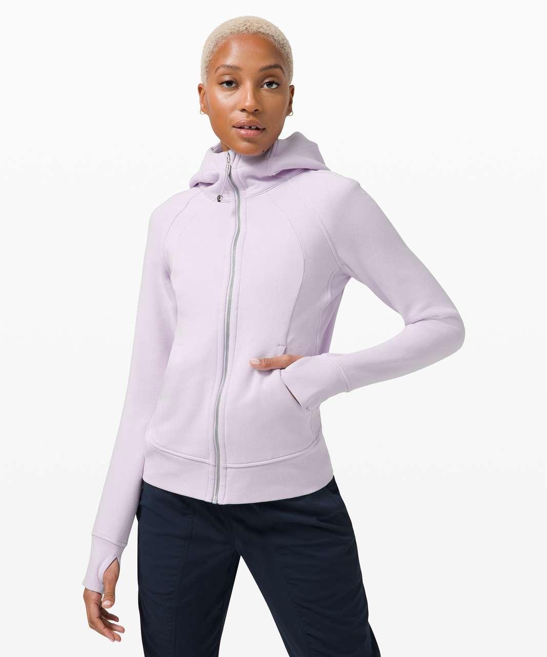 Lululemon Scuba Hoodie *Light Cotton Fleece - Lavender Dew