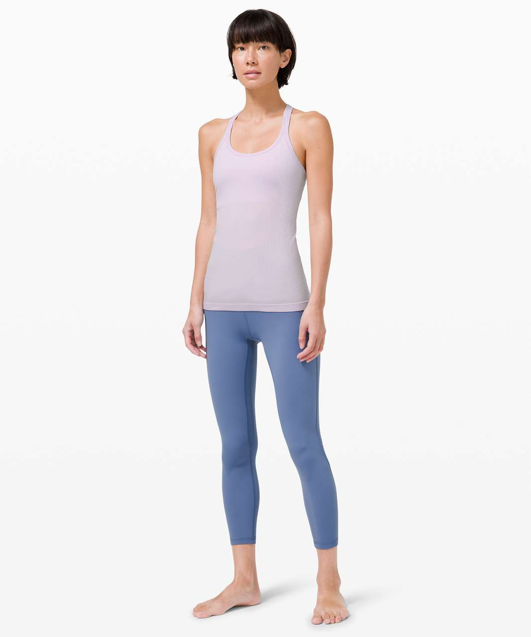 Lululemon Ebb To Street Tank *Light Support For B/C Cup - Lavender Dew