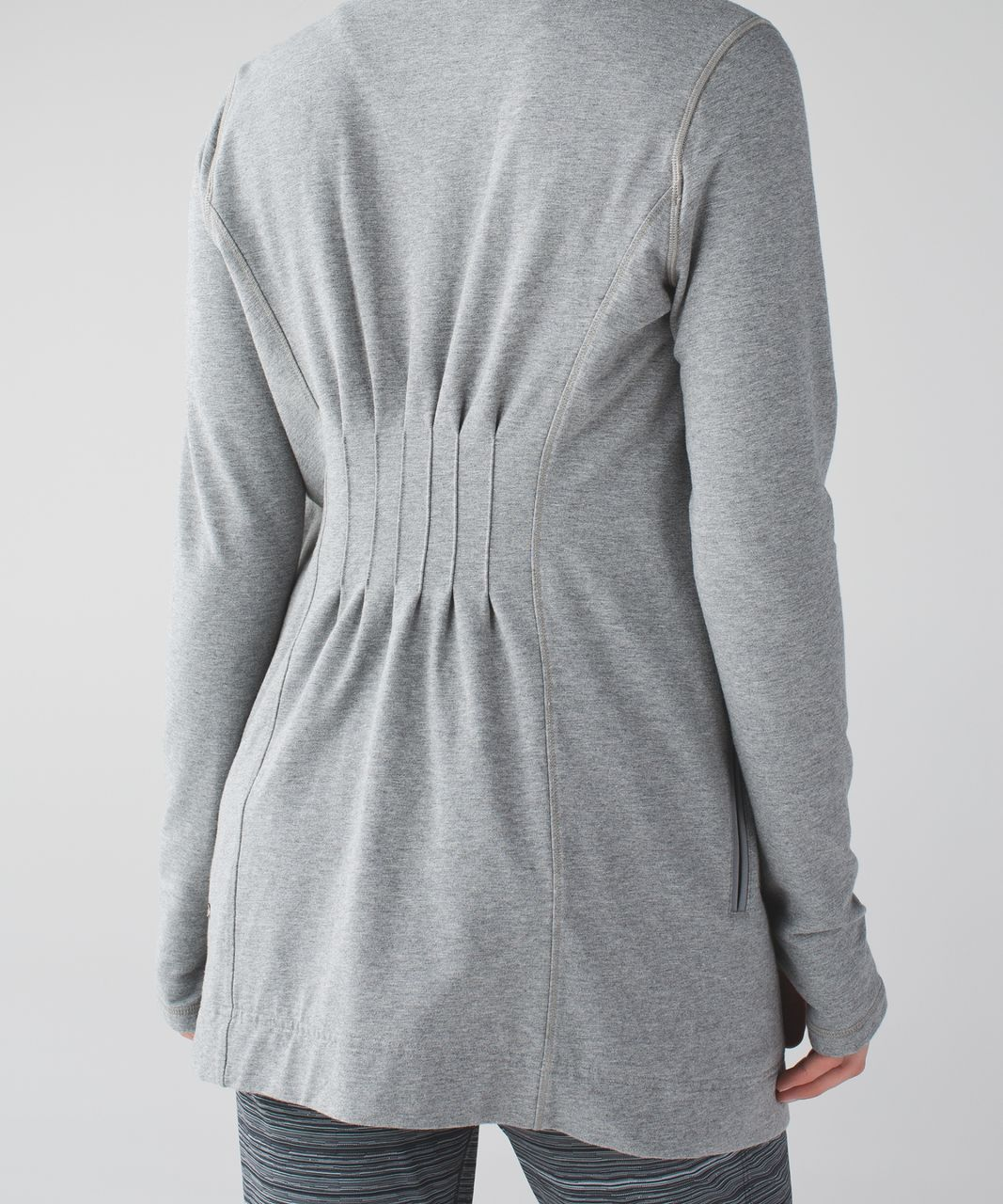 Lululemon Restore Wrap - Heathered Medium Grey