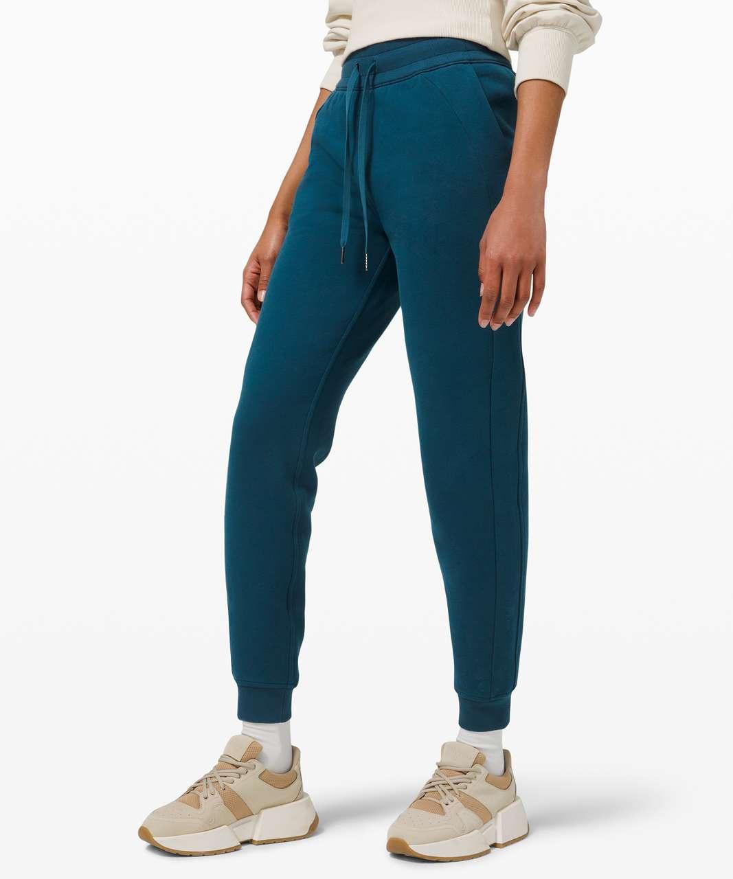 """Lululemon Scuba High-Rise Jogger *Fleece 28"""" - Blue Borealis"""