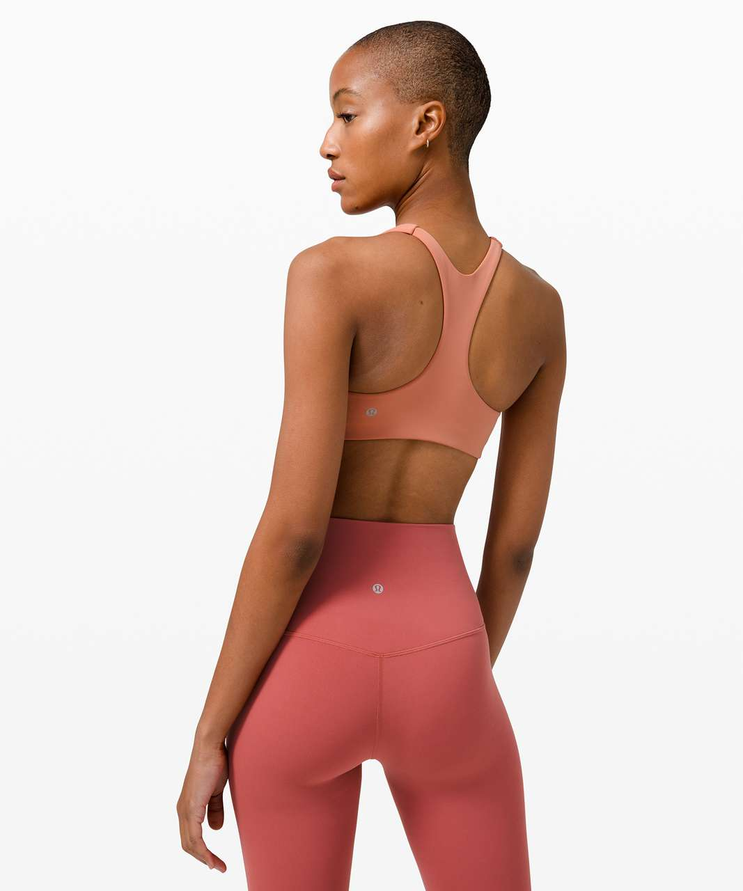 Lululemon In Alignment Racerback Bra *Light Support, B/C Cups - Pink Savannah