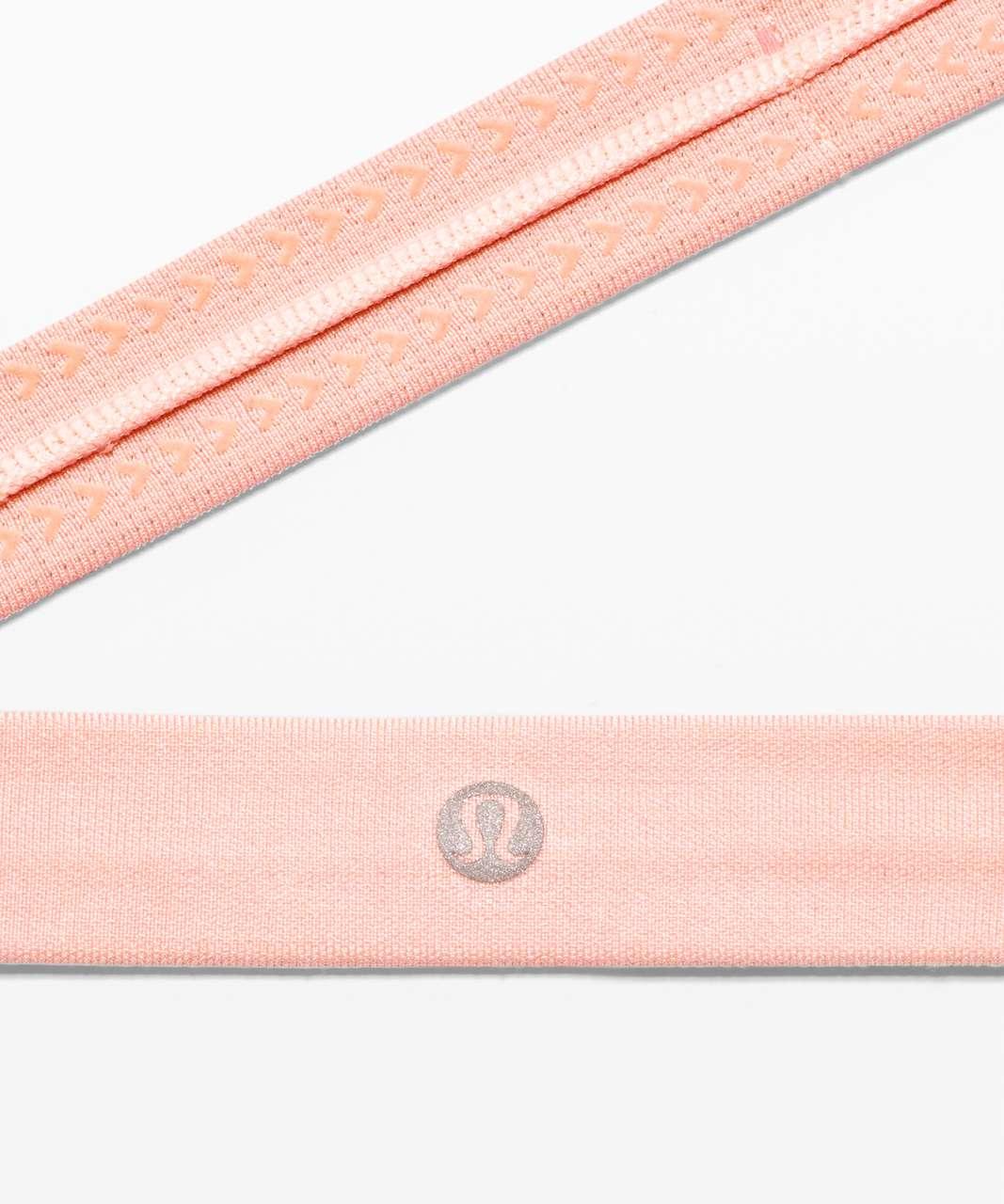 Lululemon Cardio Cross Trainer Headband - Heathered Pink Mist