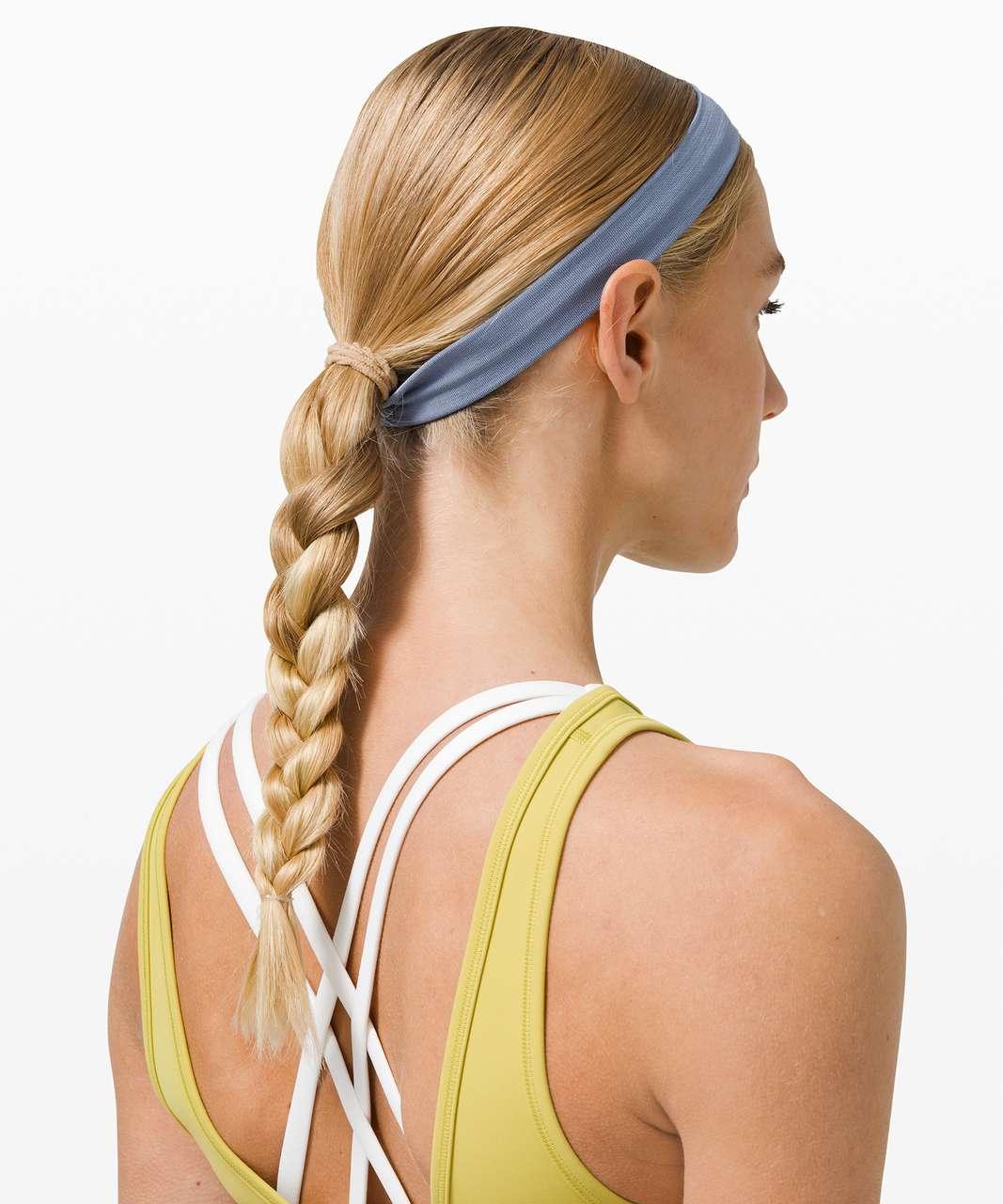 Lululemon Cardio Cross Trainer Headband - Heathered Water Drop