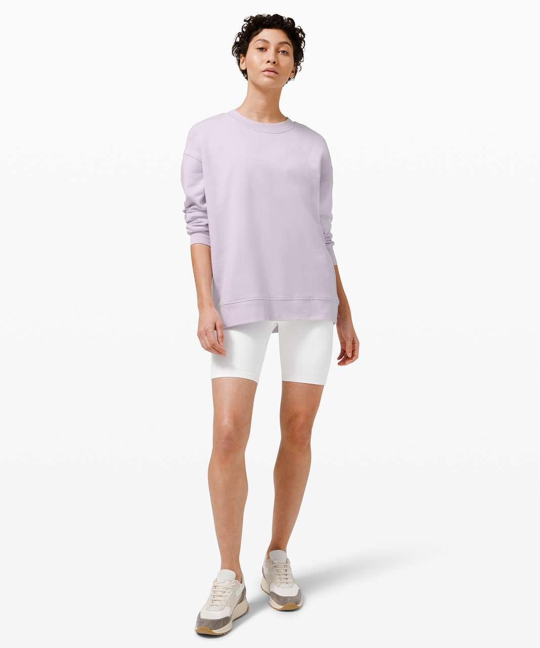 Lululemon Perfectly Oversized Crew - Lavender Dew
