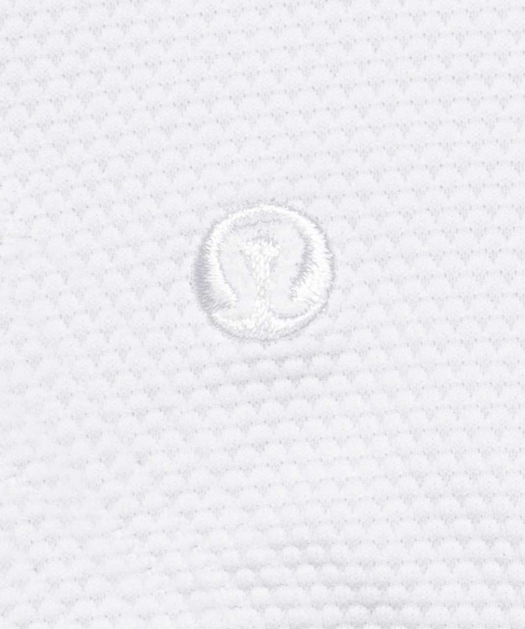 Lululemon Honeycomb Dip Square Swim Top *A/B Cups - White