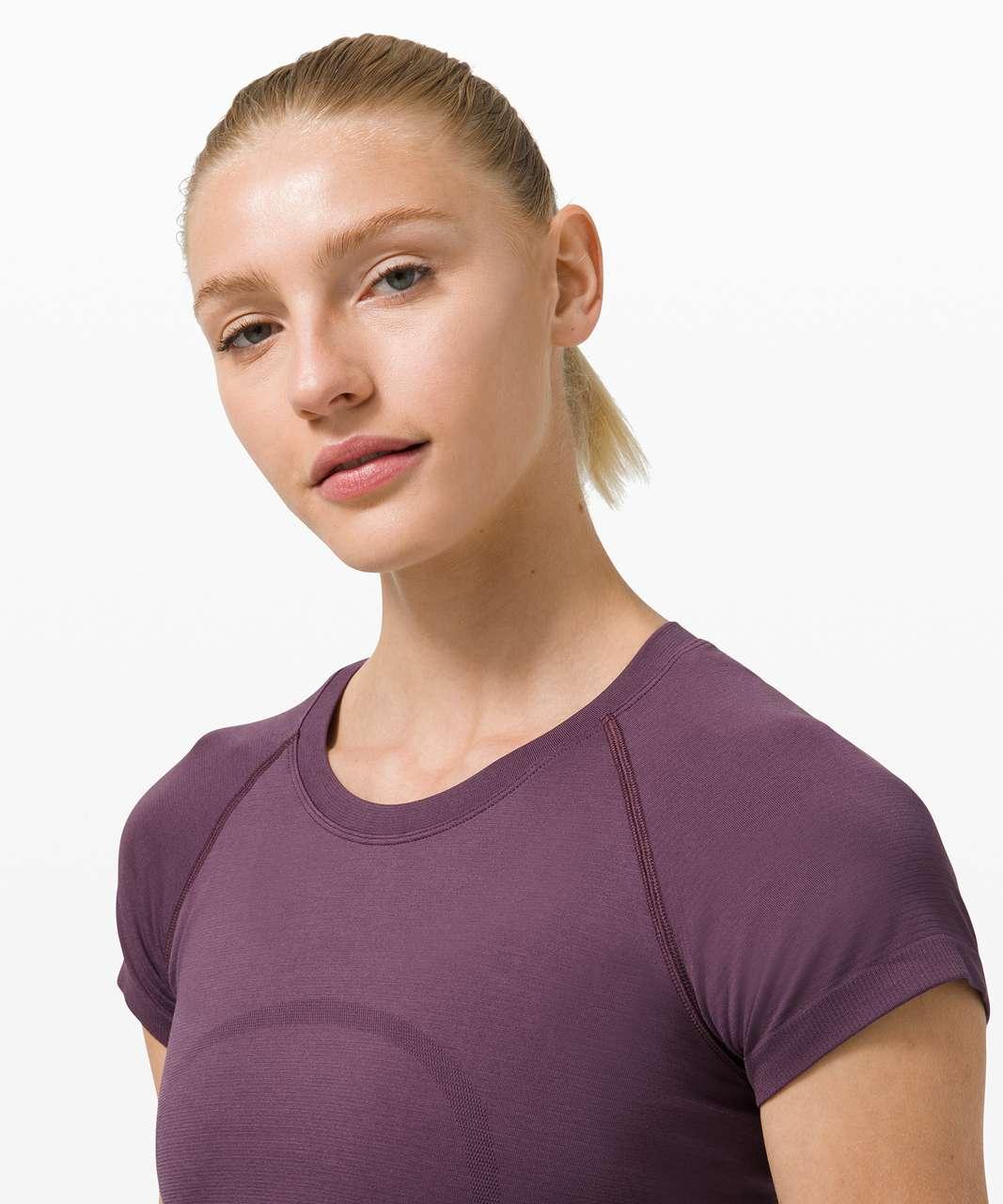 Lululemon Swiftly Tech Short Sleeve 2.0 - Grape Thistle / Grape Thistle